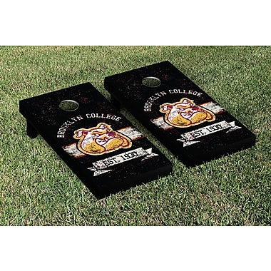 Victory Tailgate NCAA Vintage Version Banner Cornhole Game Set; Brooklyn Bulldogs