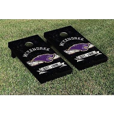 Victory Tailgate NCAA Vintage Version Banner Cornhole Game Set; McKendree McK Bearcats