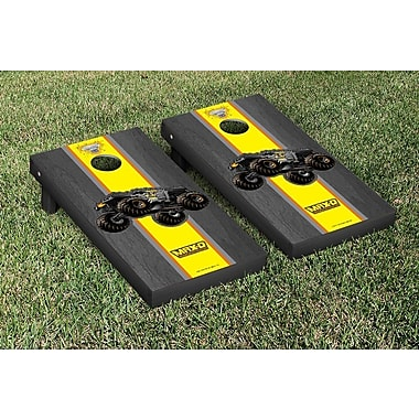 Victory Tailgate NCAA Monster Jam Max D Stained Version Cornhole Game Set; Onyx