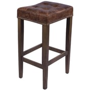 Joseph Allen Nashville 30'' Bar Stool; Brown