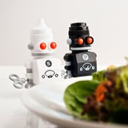 suck UK Salt & Pepper Bots Shaker Set
