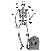 Wallies Skeleton Holiday Wall Decal (Set of 2)