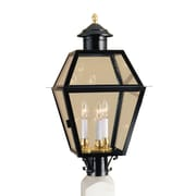 Norwell Lighting Lexington Outdoor 3-Light Lantern Head