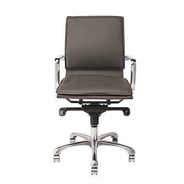 Nuevo Carlo Desk Chair; Dark Grey