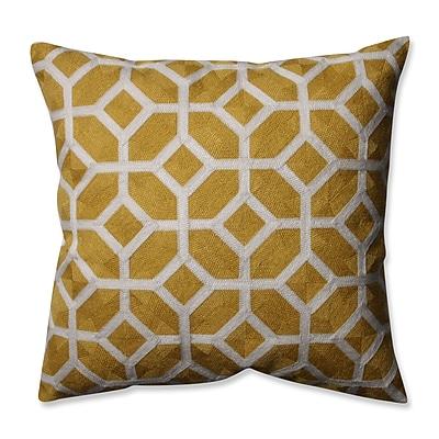 Pillow Perfect Throw Pillow; Citron