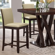 Wholesale Interiors Baxton Studio 25'' Bar Stool (Set of 2)