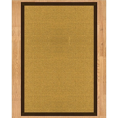 Natural Area Rugs Prescott Hand Crafted Fudge Area Rug; Runner 2'6'' x 8'