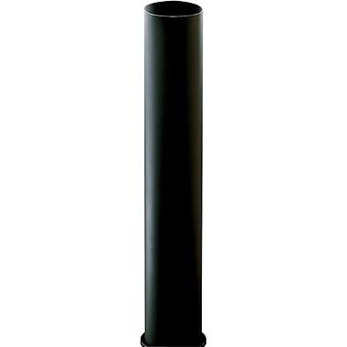 Progress Lighting Black Bollard for Path Light (3-7/8'' x 28-3/8'')