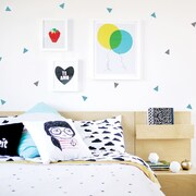 Trendy Peas Mini Triangles Wall Decal