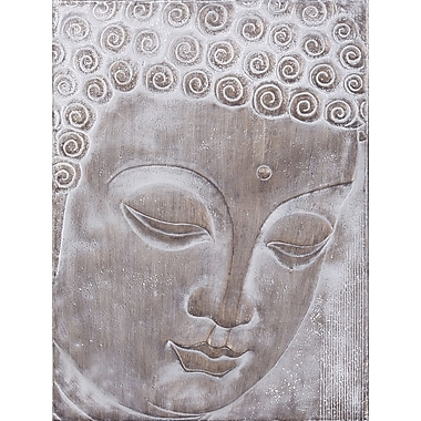 LaKasaLLC Buddha Modern Painting on Canvas