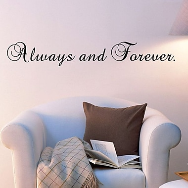 Pop Decors Always and Forever Wall Decal
