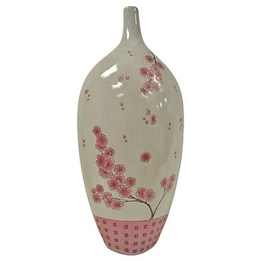 Kindwer Cherry Blossom Stoneware Vase