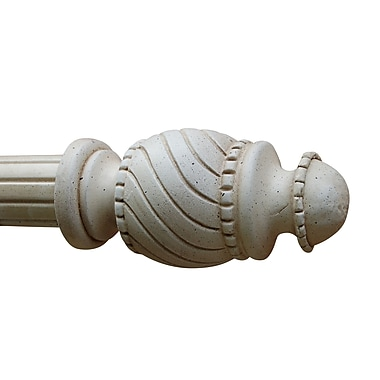 Hickory Manor House Dentil Swirl Curtain Finial