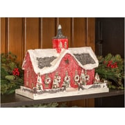 Ragon House Collection Lighted Red Barn