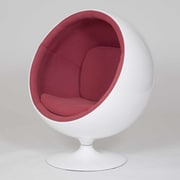 Pangea Home Kid's Novelty Chair; Pink