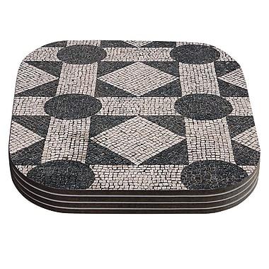 KESS InHouse Mosaic Coaster (Set of 4)