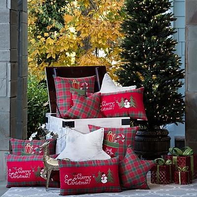 Pillow Perfect Christmas Stocking Throw Pillow
