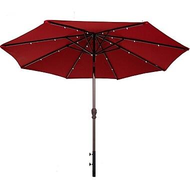 Abba Patio 9' Lighted Umbrella