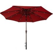 Abba Patio 9' Illuminated Umbrella