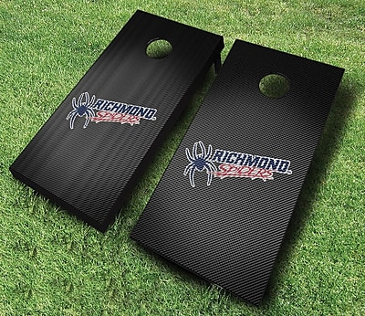 AJJCornhole NCAA 10 Piece Slanted Cornhole Set; University of Richmond