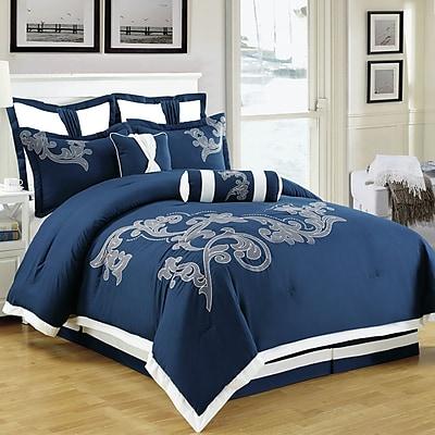 Homechoice International Group Sela 8 Piece Comforter Set; King