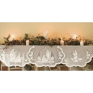 Heritage Lace Silent Night Mantle Scarf