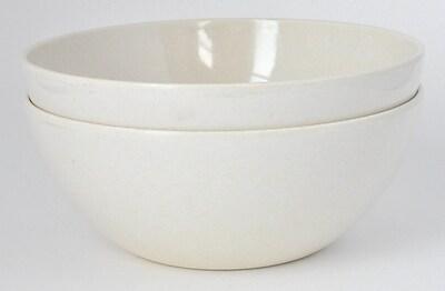 Yumi Eco Solutions Eco Bamboo Pasta/Salad Bowl (Set of 2); White