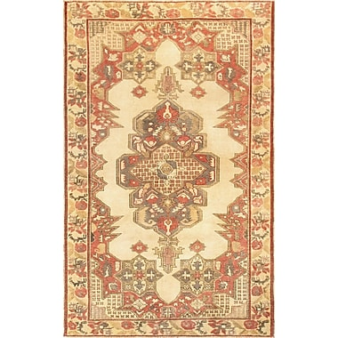 Pasargad Kysery Hand-Knotted Ivory Area Rug