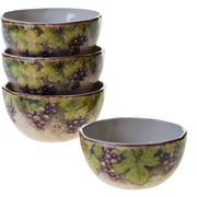 Certified International Sanctuary Wine Ice Cream Bowl (Set of 4)