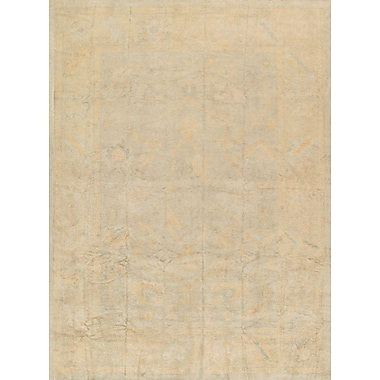 Pasargad Oushak Hand-Knotted Light Blue Area Rug