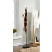 !nspire Metal w/ Solid Wood Hook Coat Rack