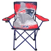 Idea Nuova NFL Kids Camping Chair w/ Cup Holder; New England Patriots