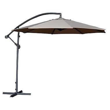 Abba Patio 10' Cantilever Umbrella; Ivory