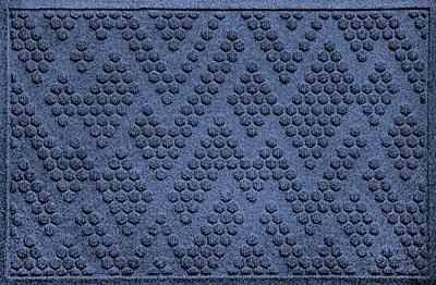 Bungalow Flooring Aqua Shield Katy Doormat; Navy