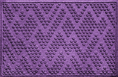 Bungalow Flooring Aqua Shield Katy Doormat; Purple