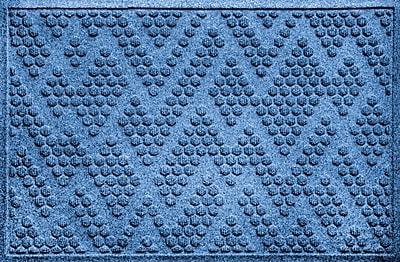 Bungalow Flooring Aqua Shield Katy Doormat; Medium Blue