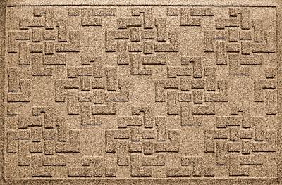 Bungalow Flooring Aqua Shield Jasper Doormat; Camel