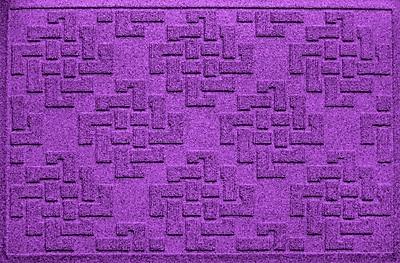 Bungalow Flooring Aqua Shield Jasper Doormat; Purple