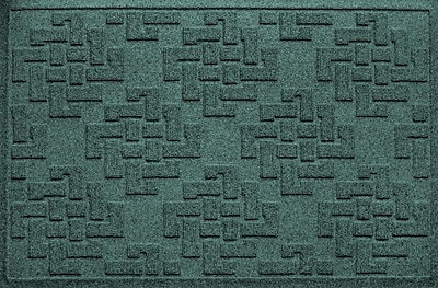 Bungalow Flooring Aqua Shield Jasper Doormat; Evergreen
