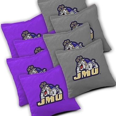 AJJCornhole NCAA Cornhole Bag (Set of 8); James Madison Dukes
