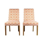 Sole Designs Parsons Chair (Set of 2); Sunset