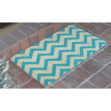 A1 Home Collections LLC Callie Chevron Doormat