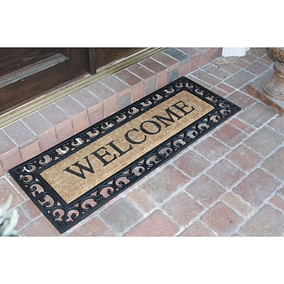 A1 Home Collections LLC Myla Welcome Doormat