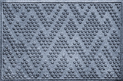 Bungalow Flooring Aqua Shield Katy Doormat; Bluestone
