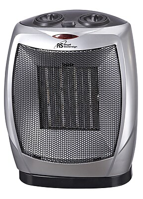 Royal Sovereign Compact Oscillating Ceramic Heater (HCE-160)