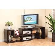 Brassex – Support d'écran de télé multifonction 10367, cerisier foncé, 69,5 x 15,5 x 47 po