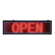 "Futech LDP005 Computerized Programmable Sign, 26-3/4""W x 8""H x 2""D"