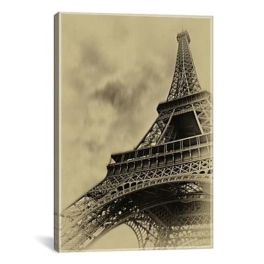 iCanvas 'Parisian Spirit' by Sebastien Lory Photographic Print on Canvas; 40'' H x 26'' W x 1.5'' D