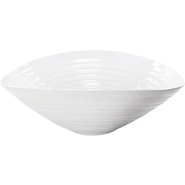Portmeirion Sophie Conran White Salad Bowl; Large
