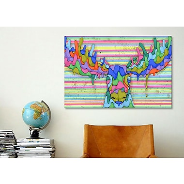 iCanvas Overwhelmed by the Spectrum by Ric Stultz Painting Print on Wrapped Canvas